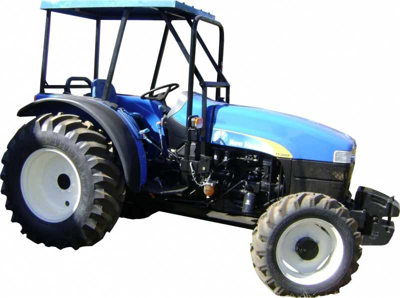 Capota Agrícola - New Holland - NH TT 3880