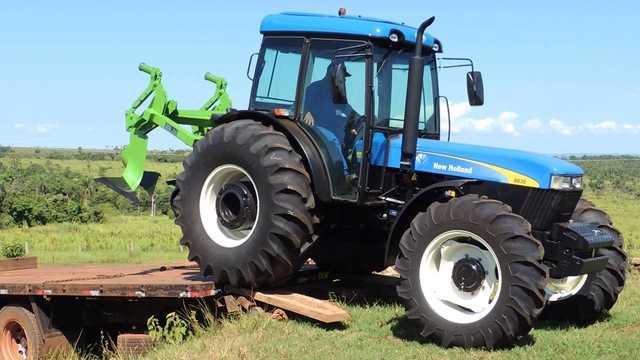 Cabina Agrícola New Holland 8030